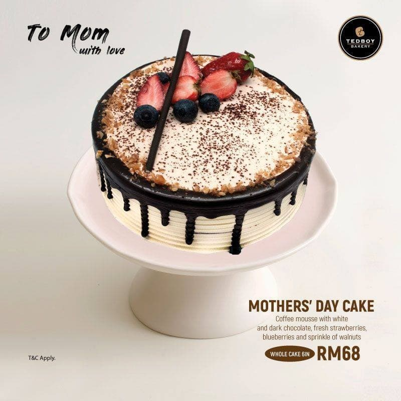 Tedboy Mothers Day Cake Promotion Loopme Malaysia