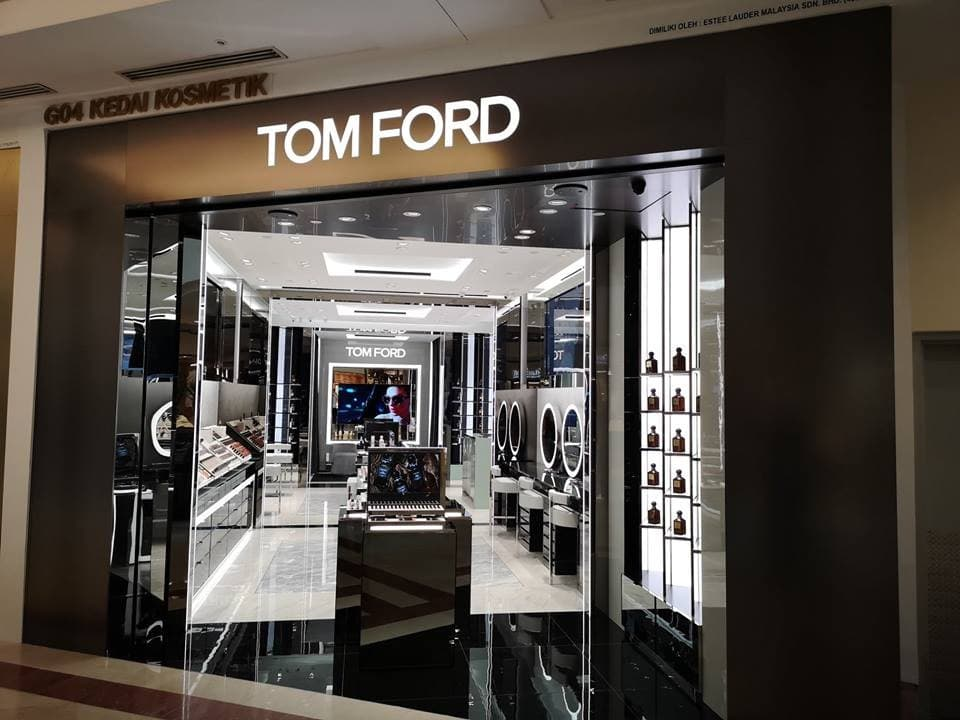 f1c51a5cd88114 New Tom Ford Boutique at Suria KLCC   LoopMe Malaysia