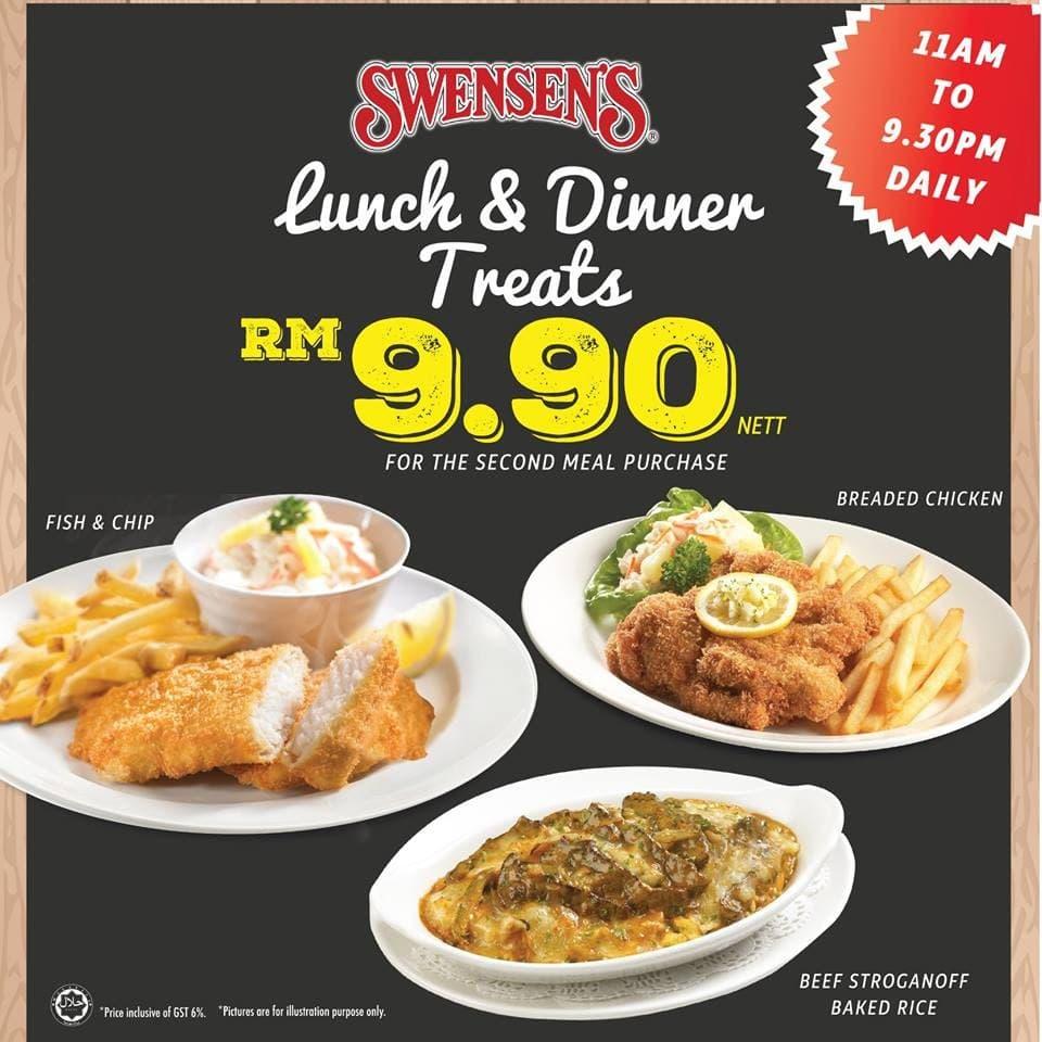 Swensen's Lunch & Dinner Treats