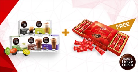 nescafe dolce gusto capsules valentine 39 s day promotion loopme malaysia. Black Bedroom Furniture Sets. Home Design Ideas