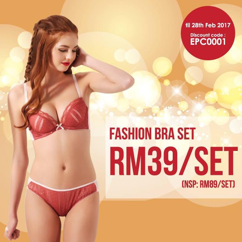 Pierre Cardin Lingerie Online Boutique Launch Promotion  589f24c33