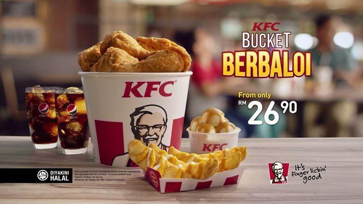 VIRAL Makan KFC ketika tak ada duit