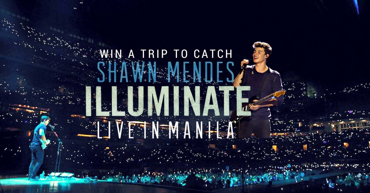 Win a trip for 2 to catch shawn mendes live in manila loopme malaysia m4hsunfo