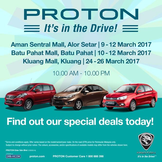 perodua it s in the drive roadshows loopme malaysia rh loopme my Proton Edar Malaysia Proton Suprima S