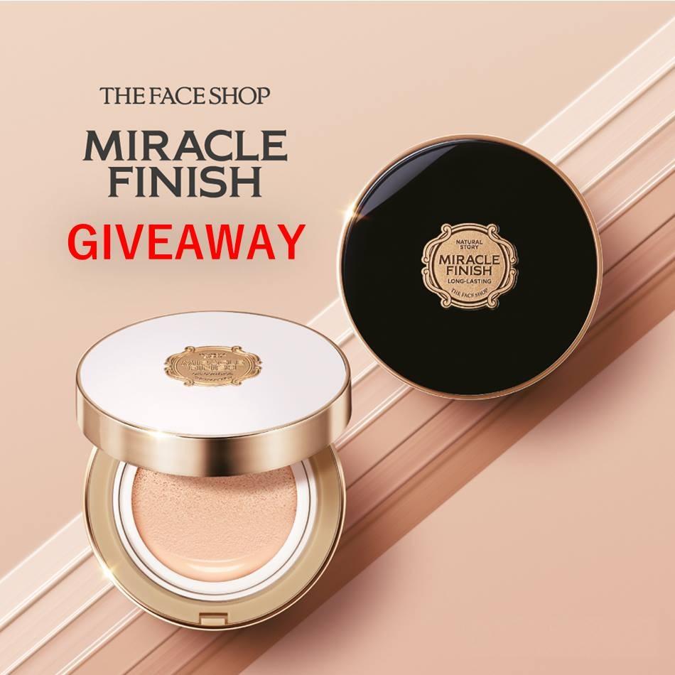 THEFACESHOP Miracle Finish Giveaway   LoopMe Malaysia