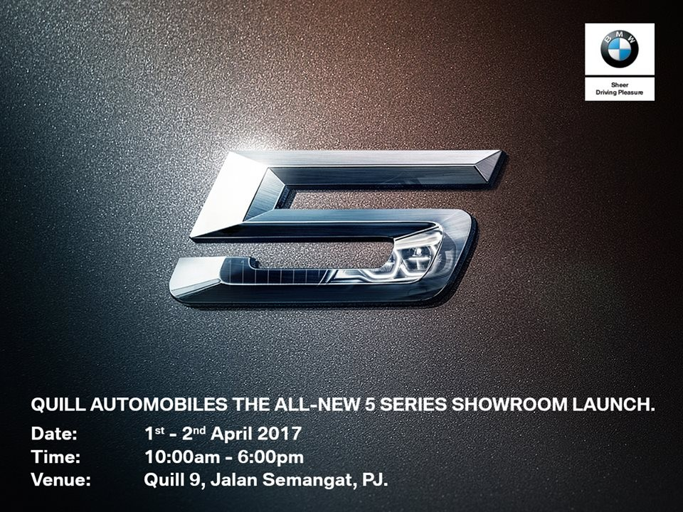 quill automobiles the all new 5 series showroom launch loopme malaysia