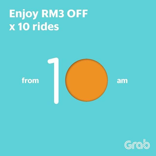 Grabcar And Grabshare Promotion Loopme Malaysia