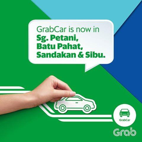 Kali Pertama Menggunakan Perkhidmatan GrabCar Di Sibu, Sarawak
