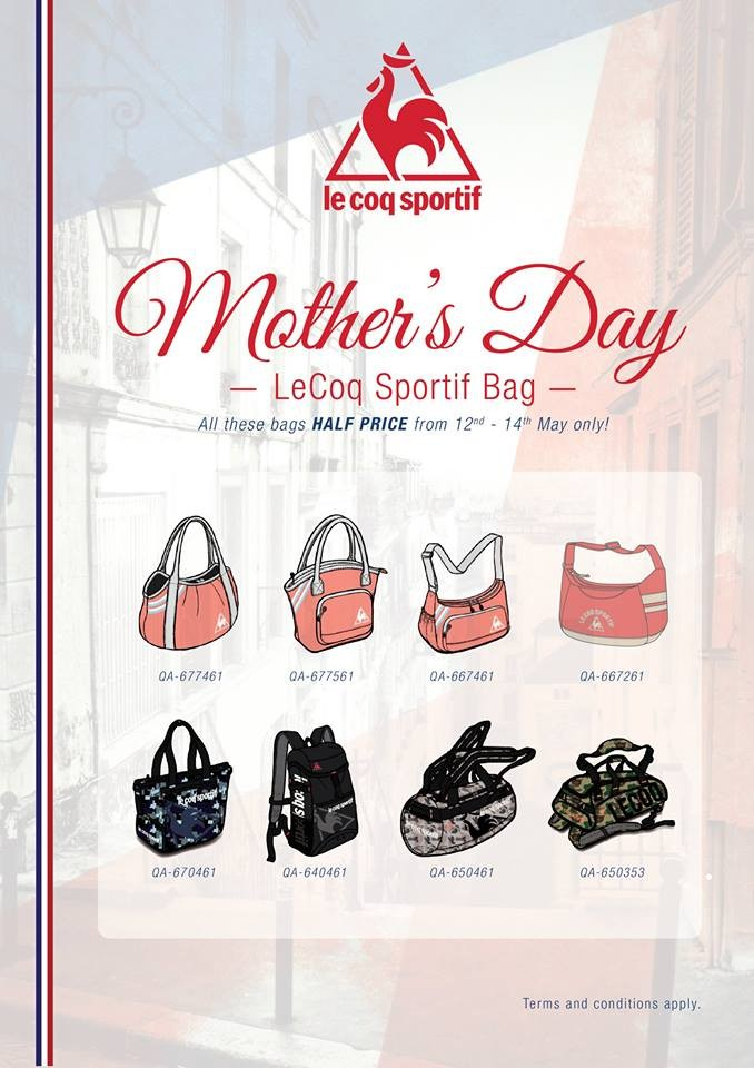 74272b495370 Le Coq Sportif Mother's Day Promotion | LoopMe Malaysia