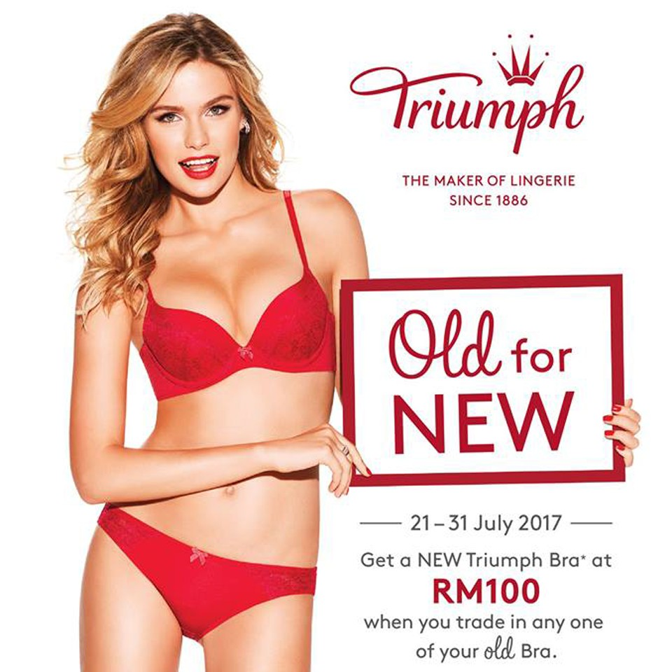 89c8cca3fb Triumph Old For New Promotion