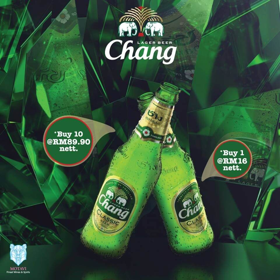 Thai Hou Sek Chang Beer Promotion Loopme Malaysia