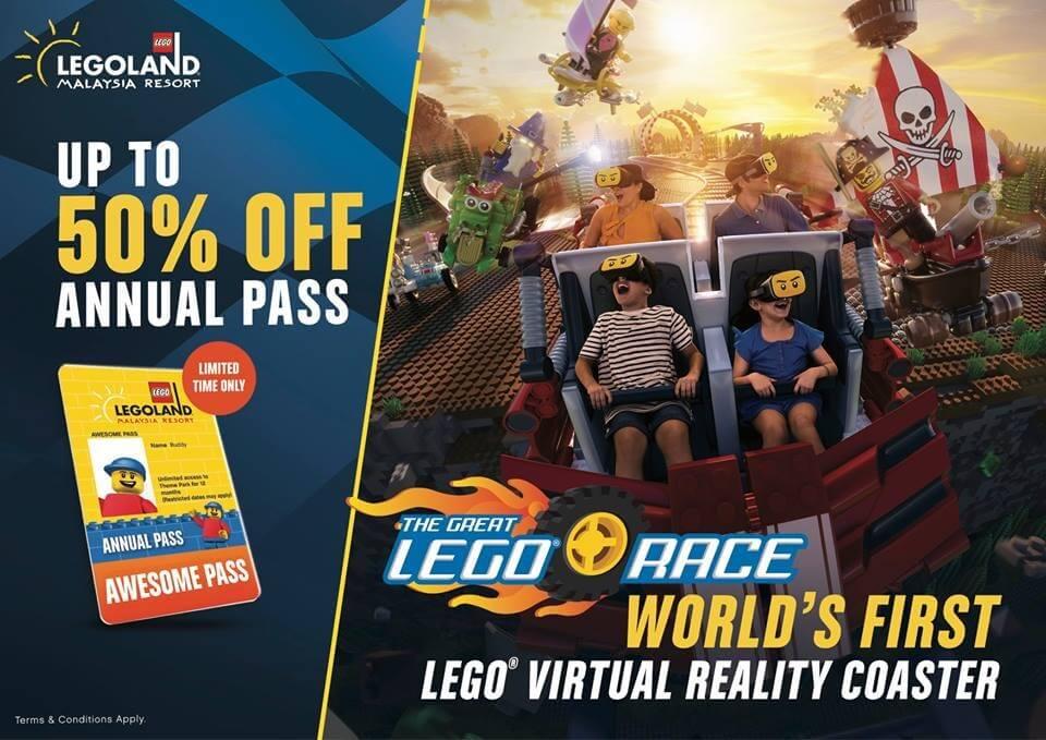 LEGOLAND Annual Pass Flash Deal   LoopMe Malaysia