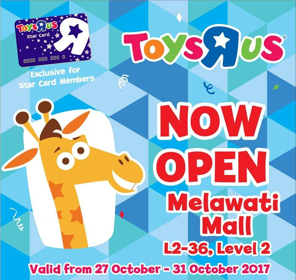 Toys R Us Melawati Mall Opening Promotion Loopme Malaysia
