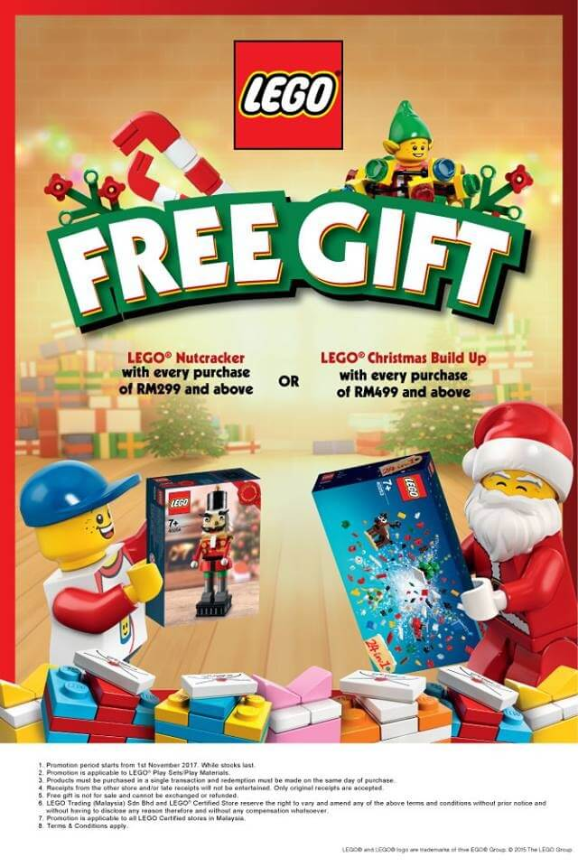 FREE LEGO Christmas Exclusive Gift | LoopMe Malaysia