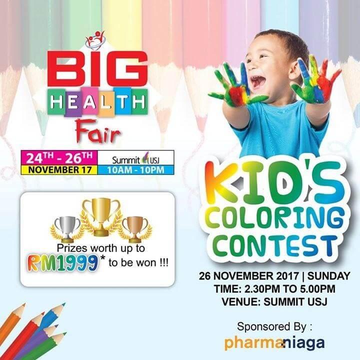 Kid\'s Coloring Contest At Summit USJ | LoopMe Malaysia