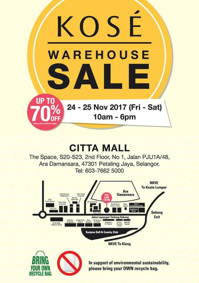 Kose Warehouse Sale Loopme Malaysia