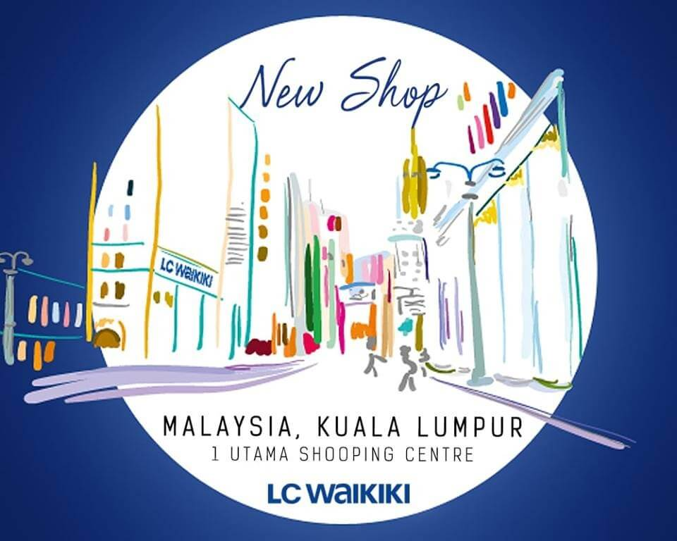 3cc659da5ee283 New LC Waikiki Store at 1 Utama