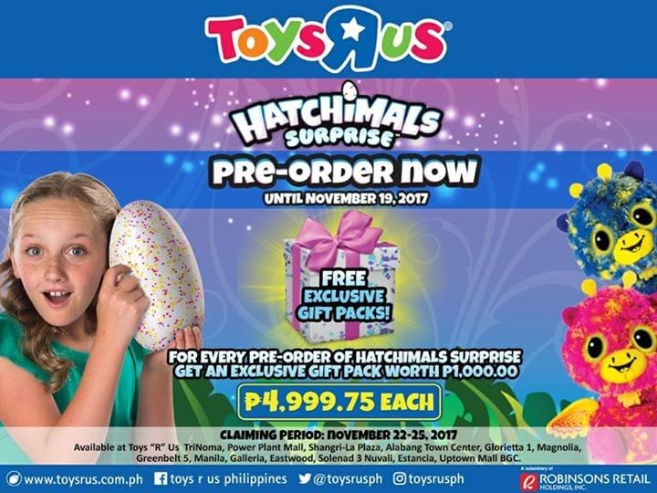 Double the fun by pre ordering the hatchimals surprise today double the fun by pre ordering the hatchimals surprise today loopme philippines stopboris Gallery