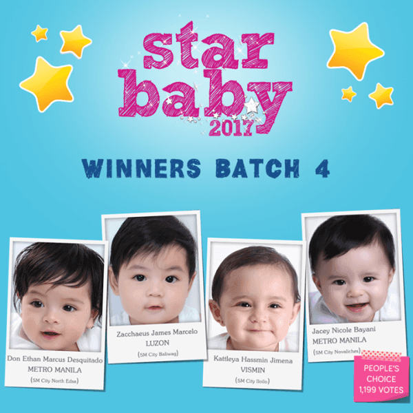 Here is the final batch of winners for star baby 2017 you a here is the final batch of winners for star baby 2017 you a loopme philippines stopboris Images