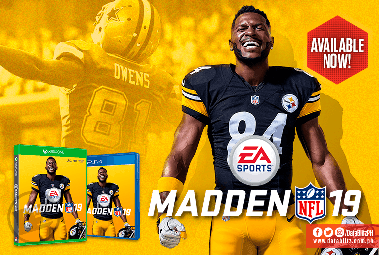 b74c31cfa9d AUTHENTIC NFL EXPERIENCE. Madden NFL 19 for PS4 and Xbox On... | LoopMe  Philippines