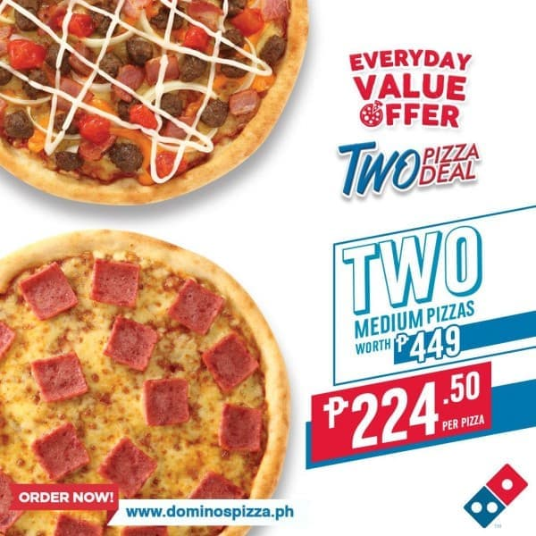 Domino S Pizza Offer Loopme Philippines
