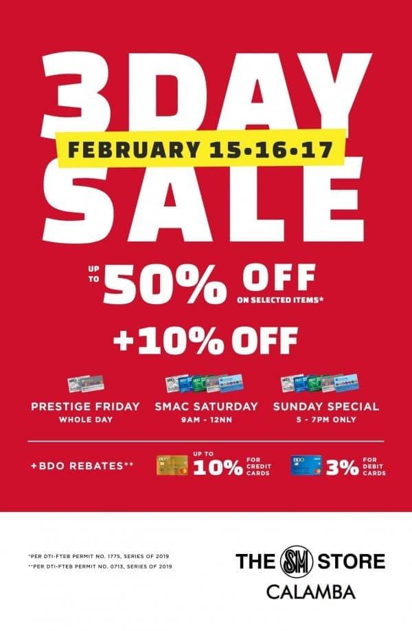 SM City Calamba Sale | LoopMe Philippines