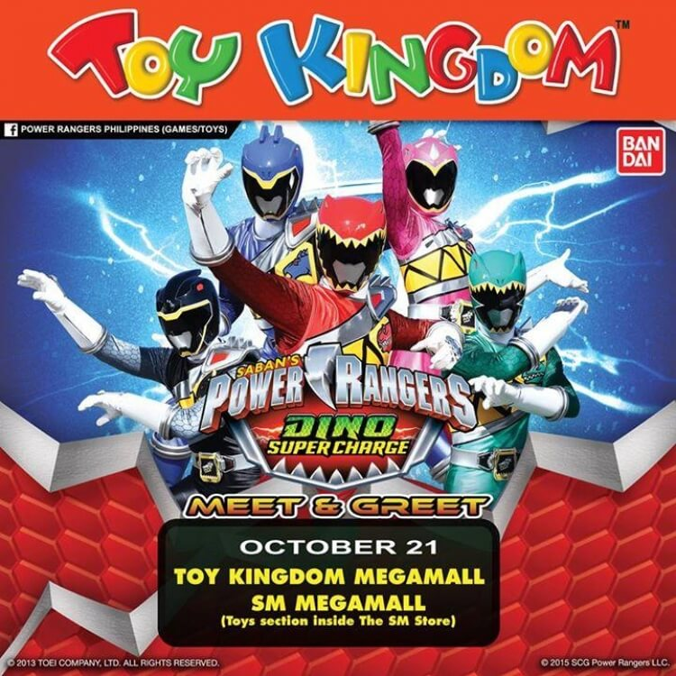 Power rangers meet and great at toy kingdom loopme philippines m4hsunfo