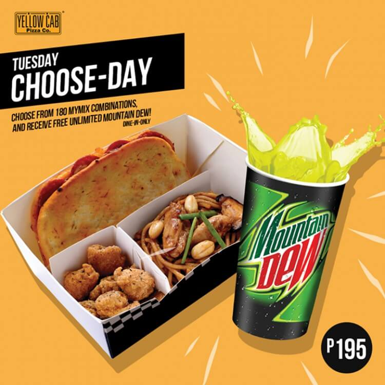 Tuesday Choose Day At Yellow Cab