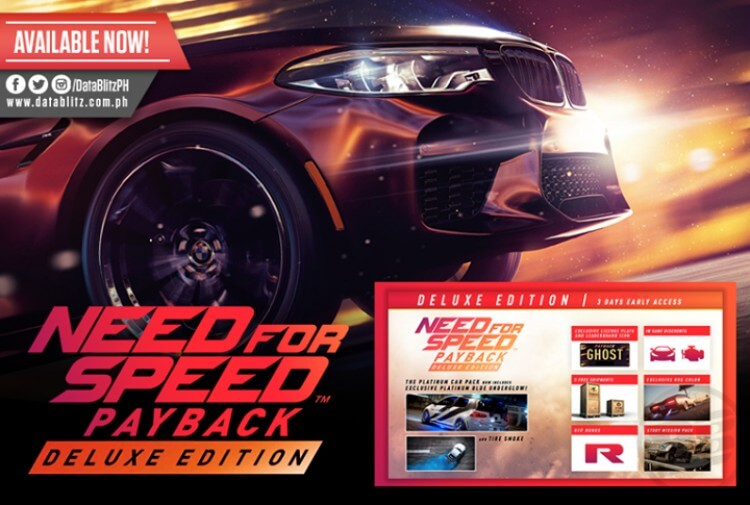 Need For Speed Payback Deluxe Edition For Ps4 And Xbox One At