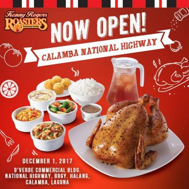 Kenny Rogers Roasters Calamba National Highway Branch Loopme Philippines