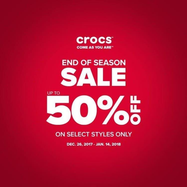 Crocs End of Season Sale | LoopMe