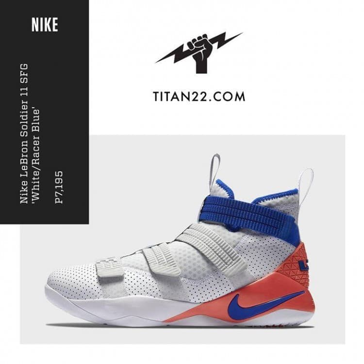 Nike LeBron Soldier Shoes at Titan 22