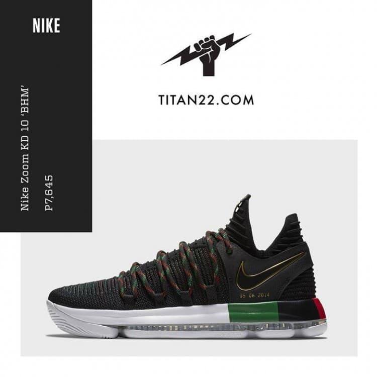 online store 83df3 e47c8 Nike Zoom KD 10 BHM Titan 22 | LoopMe Philippines