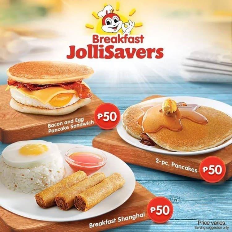 Breakfast JolliSavers At Jollibee