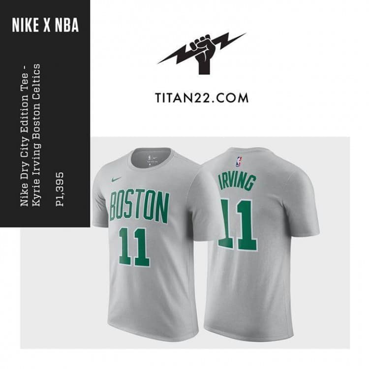 new arrival 5682c ca9bf Nike Dry Kyrie Irving Boston Celtics Shirt | LoopMe Philippines