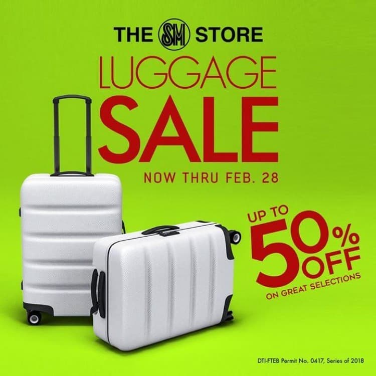 0265b0cf2da61 At best waterfront destinations you … Important  This post has been  archived. It may not be valid. The SM Store Luggage Sale