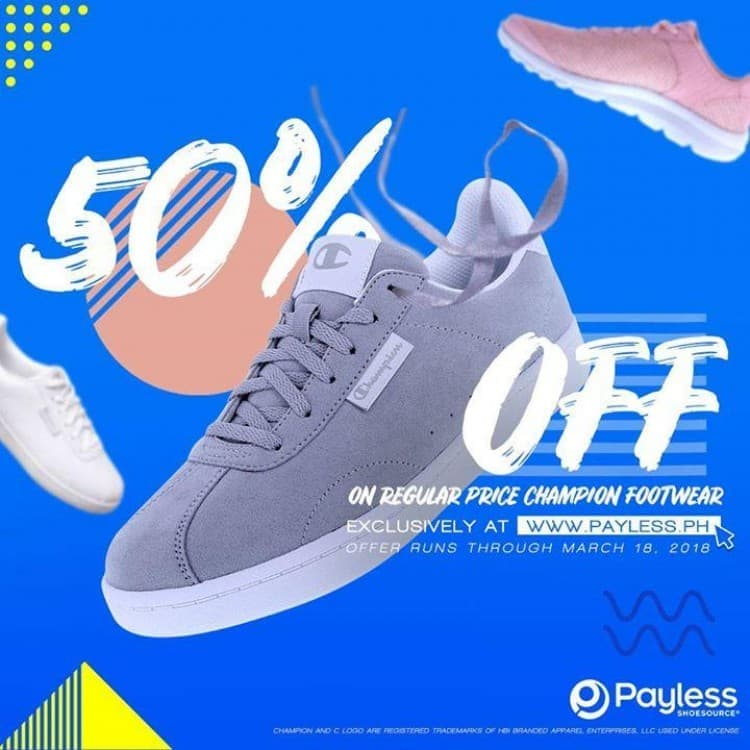90c63527fc9 Important  This post has been archived. It may not be valid. While stocks  last. Champion Footwear Sale at Payless