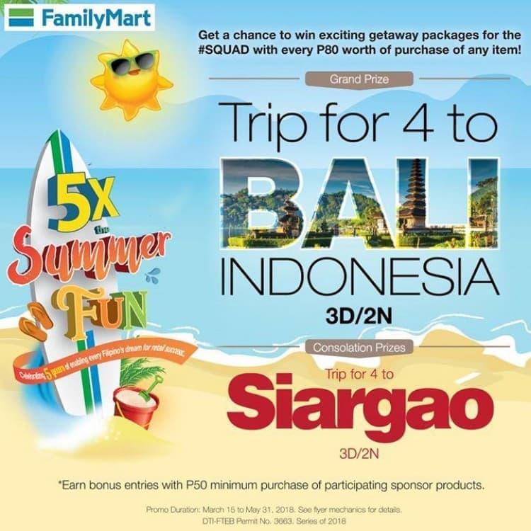 FamilyMart Summer Promo | LoopMe Philippines