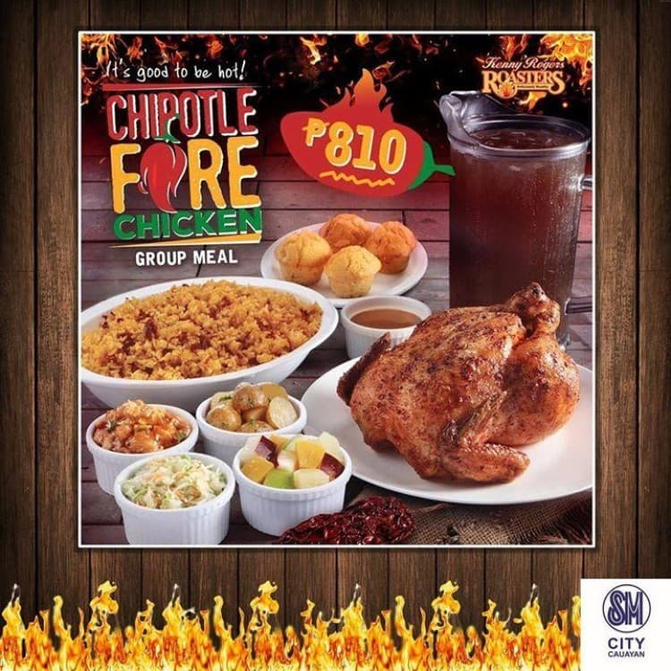 Chipotle Fire Chicken Bundle At Kenny Rogers Roasters Loopme Philippines