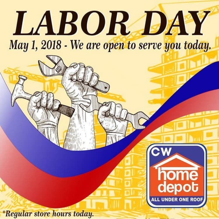 Cw Home Depot Open On Labor Day Loopme Philippines