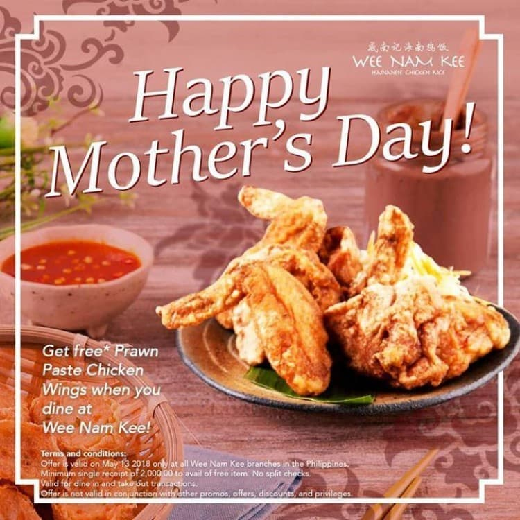 Mothers day treat by wee nam kee loopme philippines thecheapjerseys Gallery