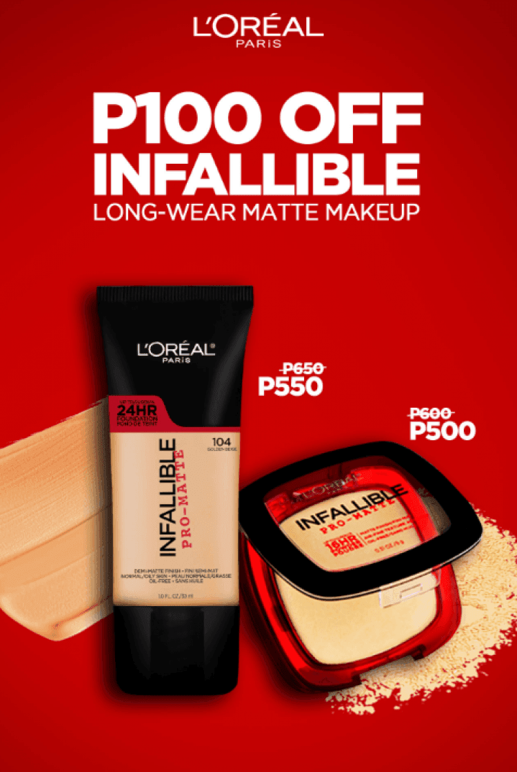 Loral Paris Infallible Pro Matte Liquid Foundation Promo Loopme Loreal Philippines