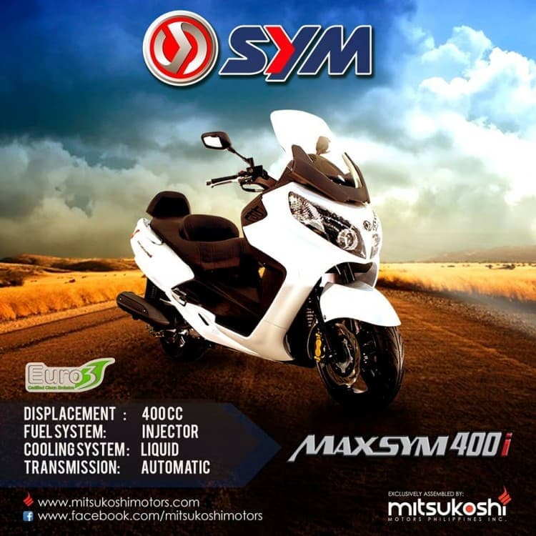 Brand New SYM Maxsym 400i | LoopMe Philippines