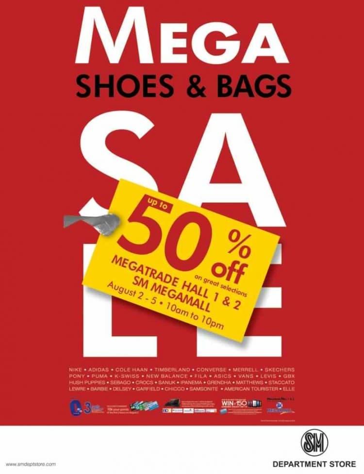 80cf4dc4ec5 Mega Shoes and Bag Sale at SM Megamall