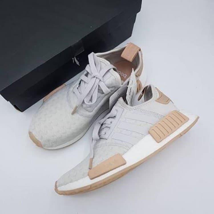 Adidas NMD R1 Grey One Ash Pearl at