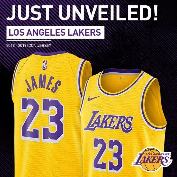 finest selection 75912 65cb8 Lakers Lebron James Jersey at the NBA Store | LoopMe Philippines