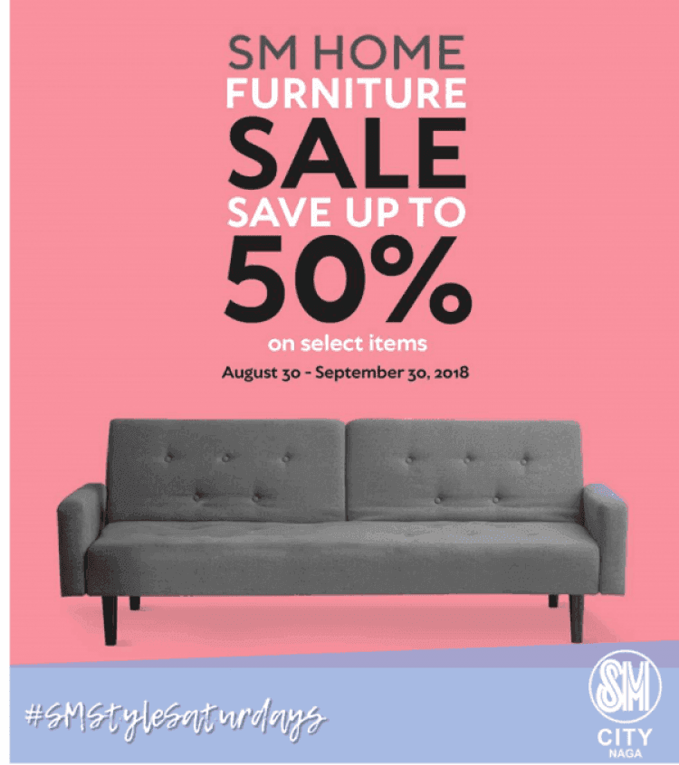 SM Home Furniture Sale At SM City Naga