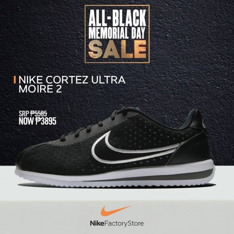Nike Cortez Ultra Moire 2 Black Sale at