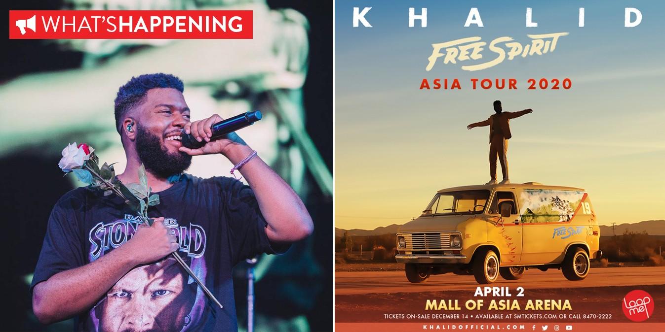 Khalid Tour 2020.Khalid Returns To Manila In 2020 For His Free Spirit World