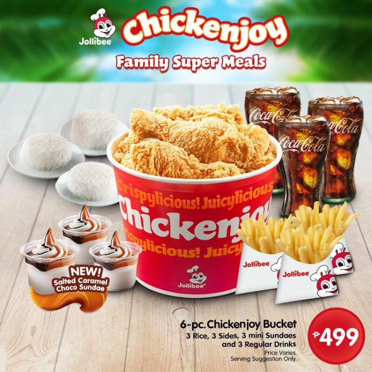 Jollibees New Chickenjoy Family Super Meals Loopme Philippines